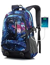 背包书包 适用于大学、学校、商务、旅行、徒步旅行、适合笔记本电脑,*大 15.6 英寸 15.6 inches