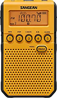 Sangean DT-800YL AM / FM / NOAA Weather Alert Rechargeable Pocket Radio (Yellow)