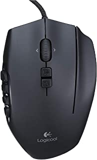 MMO 游戏鼠标 罗技G600t 搭载20个按键 *高8,200dpiG600t 1) 鼠标单品