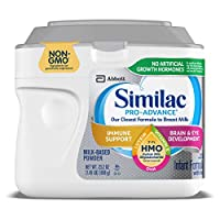 Abbott 雅培 Similac 鉑優恩美力 Pro-Advance 含鐵的嬰幼兒奶粉,帶有2'-FL HMO,有益于人體,23.2盎司,658克