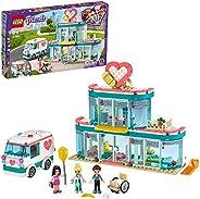 LEGO 41394 Friends Heartlake City Hospital 玩具套装,配有 Emma 和其他两个迷你玩偶,男女皆宜 6 岁以上