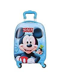 Disney迪士尼 儿童卡通旅行箱儿童行李箱学生万向轮拉杆箱 SM80511蓝色米奇