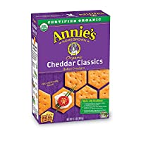 Annie's Organic Buttery Rich 经典烘焙零食饼干 6 Boxes