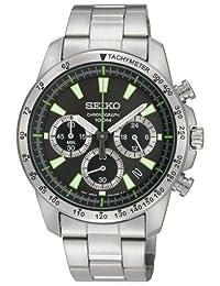 SEIKO 精工 腕表 秒表计时 海外款 SSB027PC 男款