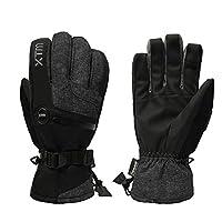 XTM 男士 滑雪手套 CM001 黑色 L