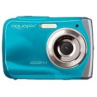 ' easypix 浅绿色10012水下数码照相机 COOLPIX W 1024SPLASH IN 冰蓝色