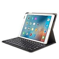 德国Leicke莱克 苹果ipad pro蓝牙键盘保护套 2018新款9.7寸皮套键盘 ipad键盘保护套 智能唤醒休眠 可支撑 犹如一台笔记本 (ipad pro9.7英寸)