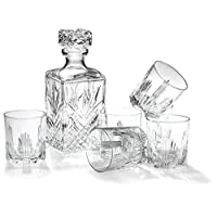 Bormioli Rocco Selecta 7-Piece Whiskey Gift Set