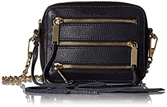 Rebecca Minkoff 4 Zip Moto Camera Bag Moon 单一尺寸