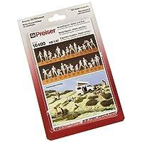 Preiser 16400 Unpainted Figure Set Adam & Eve Combination Kit Package(26) HO Model Figure