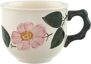 Villeroy & Boch 野玫瑰咖啡茶杯/玫瑰餐具的民居风格陶瓷白色 / 1 x 咖啡杯250毫升