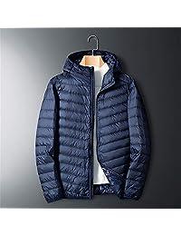 AOSENDUN 奥森盾 冬季男士羽绒服 白鸭绒保暖男装外套 连帽轻便男上衣 FNM-A8707