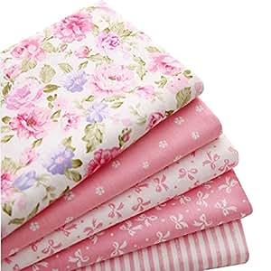5 件/套 39.88 厘米 x 50.04 厘米 * 纯棉面料缝制拼接纸 粉红色 16033002