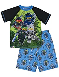 LEGO NINJAGO 小男孩2-pc 睡衣短裤套装