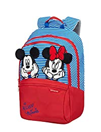 Samsonite Disney Ultimate 2.0 - Kinderrucksack S+, 35 cm, 10.5 L, Blau (Minnie Neon)