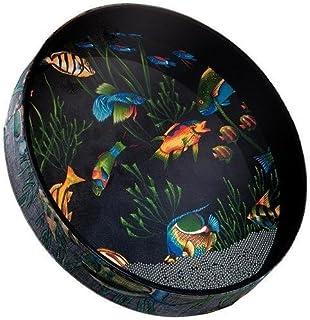Remo 海洋鼓 - 鱼形图案,30.48cm
