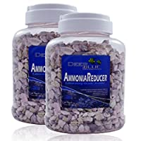 深蓝色 2 件装 35 盎司氨基甲酸盐 实验室级 Zeolite 适用于淡水和海洋水族箱