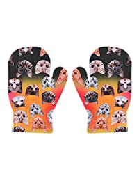 1-4T 婴幼儿手套手套可爱卡通冬季保暖手套手部手套适合男孩