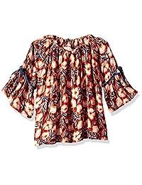 Gymboree 女童大码长袖系扣衬衫