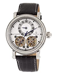Burgmeister 伯格麦斯特 德国品牌 机械手表 男士腕表 时尚镂空背透 BM156-112(亚马逊自营商品, 由供应商配送)