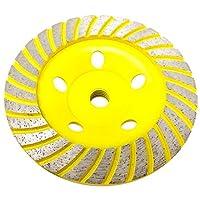 Stadea CWD103H 12.7cm 钻石杯轮 - 涡轮 - 系列标准 C - 1.59cm 11 T - 黄色