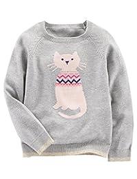 OshKosh B'Gosh Girls' Cozy Sweater