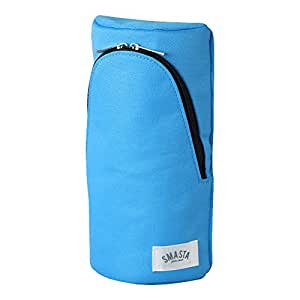 SONIC 笔袋 smart Sta 立式笔袋 本体サイズ:W100xH202xD56mm/92g 浅蓝色