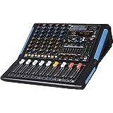 Audio2000'S AMX7303 - 带 USB 和 DSP 技术的专业四通道音频混音器AMX7332 6-Channel Mixer with Bluetooth & DSP Sound Effect