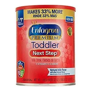 (跨境自营)(包税) Mead Johnson 美赞臣 美版Enfagrow Premium幼儿配方奶粉 3段(1-3岁) 907g/罐 (最早有效期2019年8月)