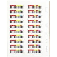 Quantum 100x 数据盒条形码标签,Lto Ultrium LTO7 系列 7 (000101 000200)