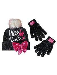 Nickelodeon JoJo Siwa 冬季帽子和手套两件套