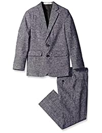 Perry Ellis Big Boys' Tickweave Suit