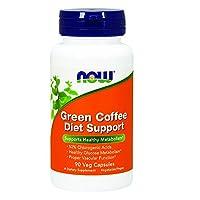 NOW Foods - 绿色咖啡饮食支持 - 90 素食胶囊