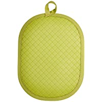 Rachael Ray AM6012 Pot Holder With Silicone Grip, Green