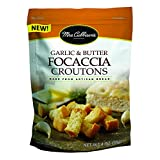 Mrs. Cubbison's Focaccia Croutons, Garlic & Butter, 4 Ounce (Pack of 9)