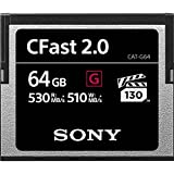 Sony CFAST 2.0 专业闪存卡CAT-G64-R 64 GB