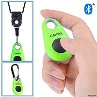 CamKix 智能手机无线蓝牙相机快门遥控器 - 制作令人惊叹的照片和自拍D0617-SR4-GRE Green Drop