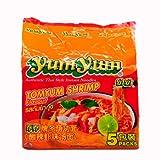 Yumyum养养牌冬荫功面(酸辣虾味汤面70g*5包)350g(泰国进口)