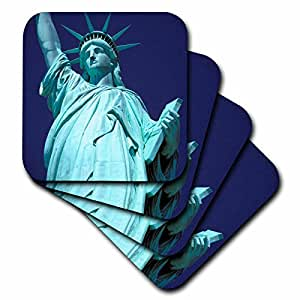 cst_93150_2 Danita Delimont - New York - New York City. The Statue of Liberty - US33 SWE0193 - Stuart Westmorland - Coasters - set of 8 Coasters - Soft