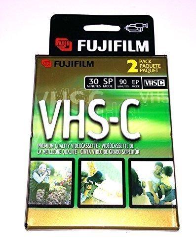 2富士フイルムビデオTC-30 VHS-Cの高品質ビデオテープVHSビデオカメラカセット
