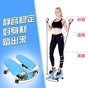 踏步机家用机女迷你登山机3D小型原地脚踏机健身器材2D踏步机赠送绳子