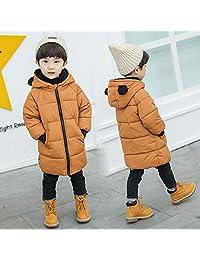 欧米澳 反季18新款儿童棉衣宝宝冬装中长款棉服男女童棉袄加厚外套