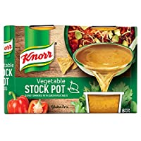 Knorr Vegetable Stock Pot, 32 Pots x 28 g (8 Pots x Pack of 4)