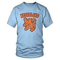 Amdesco 男式 Nederland Lion,荷兰盾徽 T 恤