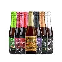 比利时进口林德曼啤酒精酿啤酒果味啤酒小麦啤酒7种口味组合可选 (林德曼果味啤酒随机发6瓶)