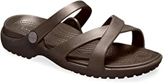 Crocs 女士 Meleen Crossband 凉拖鞋