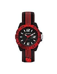New Balance 时尚系列 时尚腕表 MIYOTA2035石英机芯 安全环保坚韧ABS表壳 简约舒适尼龙表带 100米防水 28-504-001