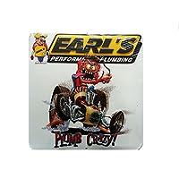 Earl's Plumbing Nascar 金属压花车库标志