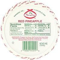Paradise 红菠萝坡跟,4 盎司(12 包)