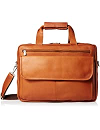 Piel Leather 中性 超薄型顶带拉链公文包 3002